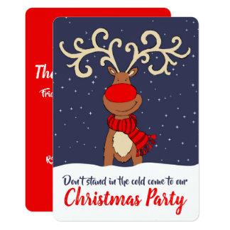 WeihnachtsPartyren kommen in Einladungen Karte