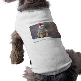Weihnachtspavian/-affe T-Shirt