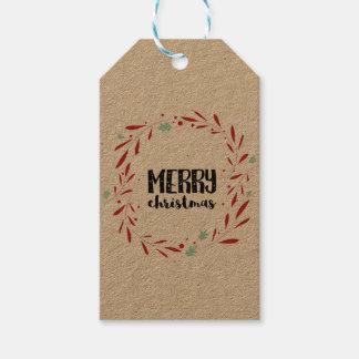 Weihnachtspersonalisierte Geschenk-Umbauten Geschenkanhänger