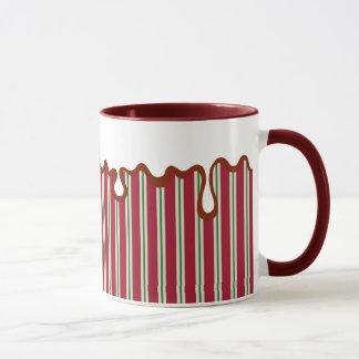 Weihnachtspfefferminz-Tasse Tasse