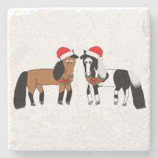 WeihnachtspferdeUntersetzer Steinuntersetzer