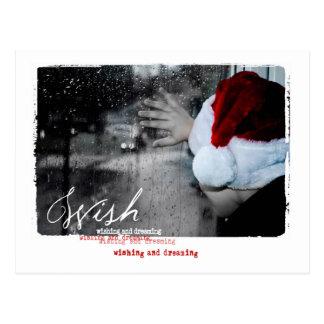 Weihnachtsphotographie Postkarte