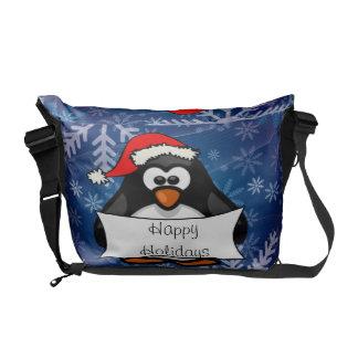 WeihnachtsPinguin Kurier Tasche