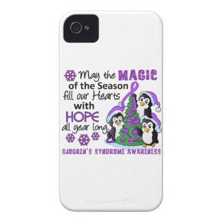 WeihnachtsPinguine Sjogrens Syndrom iPhone 4 Etuis