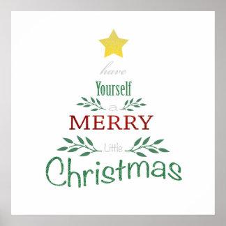 Weihnachtsplakat Poster