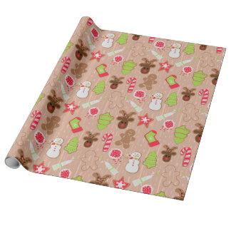 Weihnachtsplätzchen Geschenkpapier