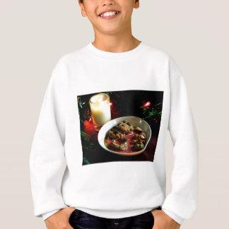Weihnachtsplätzchen-Kerze Sweatshirt