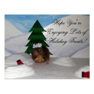 Weihnachtsplätzchen! Postkarte