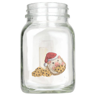 Weihnachtsplätzchen-Schwein Einmachglas