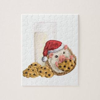 Weihnachtsplätzchen-Schwein Puzzle