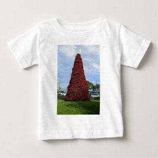 Weihnachtspoinsettia-Baum in San Diego Baby T-shirt