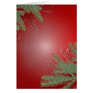 Weihnachtspoinsettia-Rot Karten