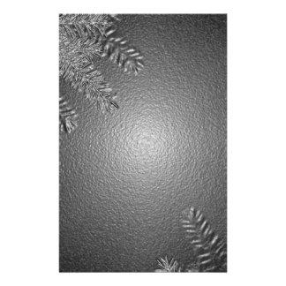 Weihnachtspoinsettia schwarz und Grau I Vollfarbige Flyer