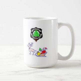 Weihnachtspolizei-Geschenke Kaffeetasse