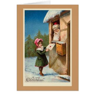 """""""Weihnachtspost-"""" Weihnachtskarte Karte"""