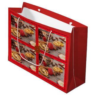 Weihnachtspotpourri-dekorative Große Geschenktüte
