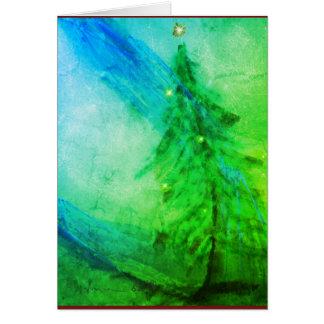 WeihnachtsPracht-Weihnachtsbaum-Grußkarte Karte