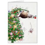Weihnachtsproblem Grußkarte