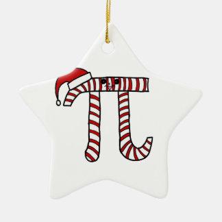 Weihnachtspu-Mathe-Verzierung Keramik Stern-Ornament