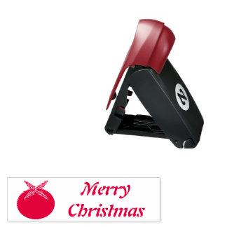 Weihnachtspudding-kundenspezifische Taschenstempel