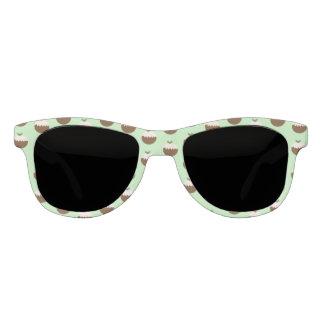 Weihnachtspuddings Sonnenbrille