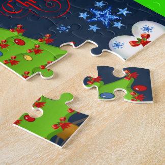 Weihnachtspuzzlespiel-Geschenkboxen für die Kinder Puzzle