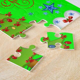 Weihnachtspuzzlespiel-Geschenkboxen für Kinder Puzzle