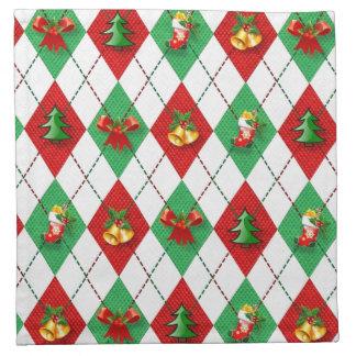 WeihnachtsRaute Serviette