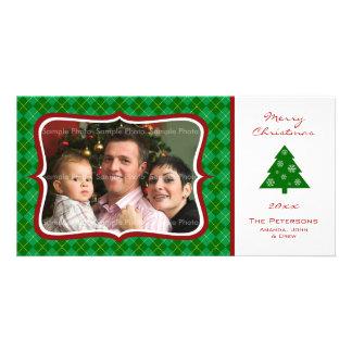 WeihnachtsRauten-Foto-Karte Photokartenvorlagen