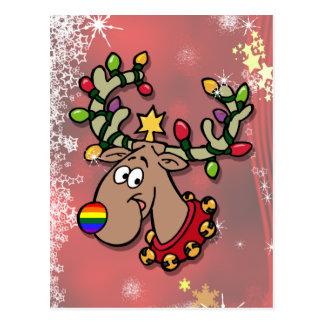 Weihnachtsren Postkarten