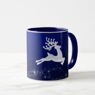 Weihnachtsren-Tasse Tasse