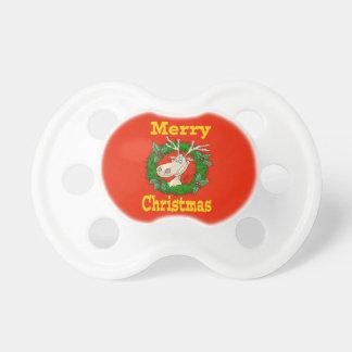 Weihnachtsrenriff Schnuller