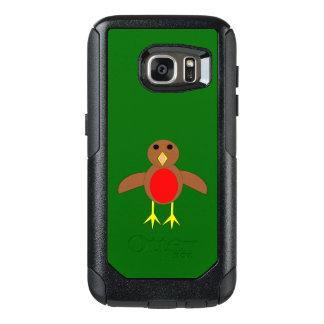 Weihnachtsrobin-Telefon-Kasten OtterBox Samsung Galaxy S7 Hülle