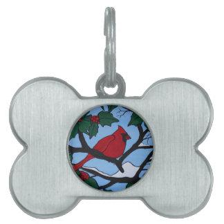 Weihnachtsrot-Kardinal Tiermarke