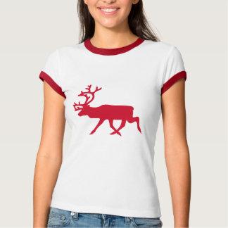 Weihnachtsrot-Ren T-Shirt