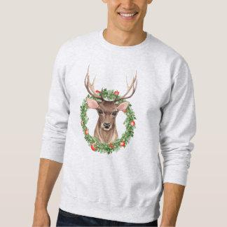 Weihnachtsrotwild Sweatshirt