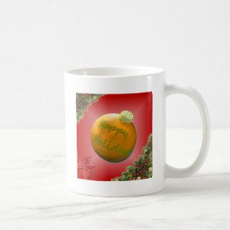 Weihnachtssammlungs-Feiertags-Beifall Kaffeetasse