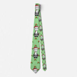Weihnachtssankt-Alpaka Krawatte