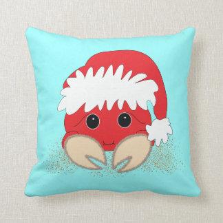 Weihnachtssankt-Krabben-Kissen Kissen