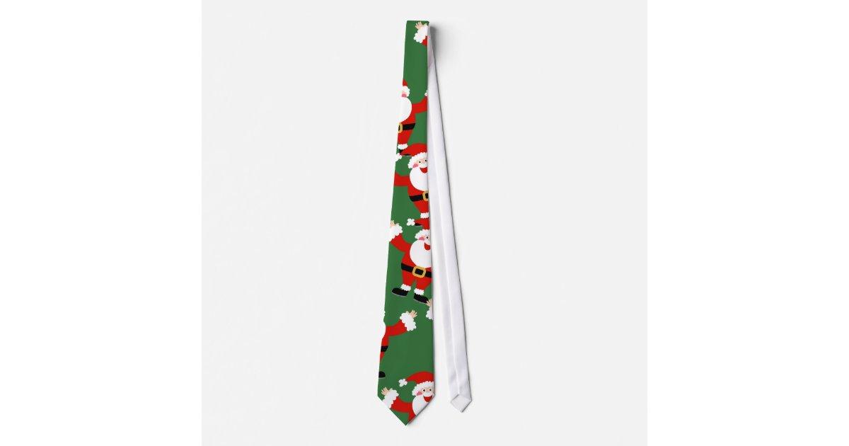 weihnachtssankt tapete bedruckte krawatten zazzle. Black Bedroom Furniture Sets. Home Design Ideas