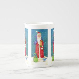Weihnachtssankt-Tasse Porzellantasse