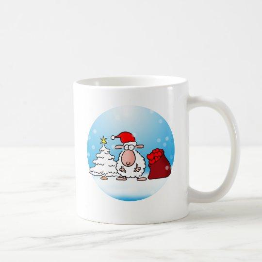 Weihnachtsschaf Kaffeetasse