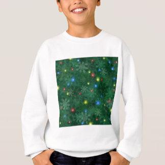 Weihnachtsschnee-Lichter Sweatshirt