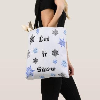 Weihnachtsschnee-Tasche Tasche