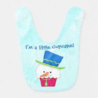 WeihnachtsSchneemann bin- ich ein kleiner kleiner Lätzchen