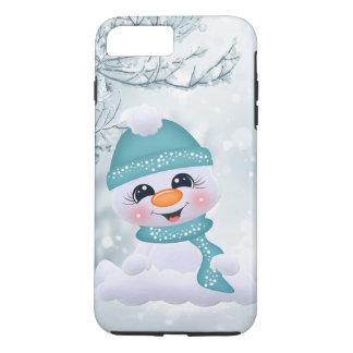 WeihnachtsSchneemann-Feiertag festliches iPhone