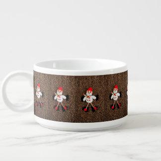 WeihnachtsSchneemanndekoration Kleine Suppentasse