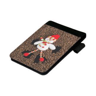 WeihnachtsSchneemanndekoration Mini Padfolio