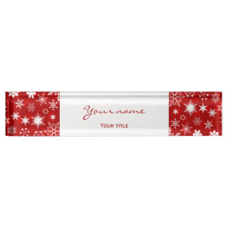 Weihnachtsschreibtischdekor Schreibtischplakette
