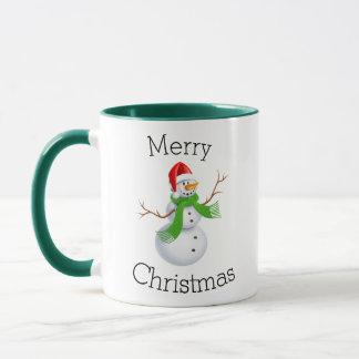 Weihnachtssnowman-Tasse Tasse